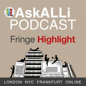 AskALLi Podcast Fringe Highlight Logo