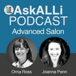 AskALLi Podcast Advanced Salon Logo
