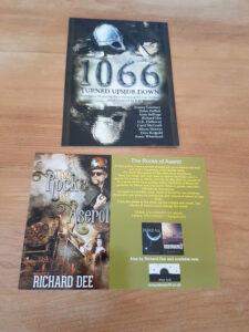 shot of Richard's books
