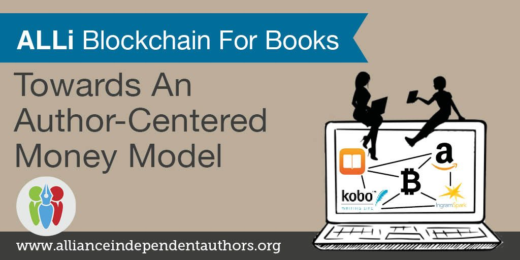 Blockchain For Books: ALLi's latest campaign