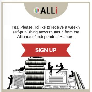 How To Self-Publish A Book Weekly Blog Post sign up