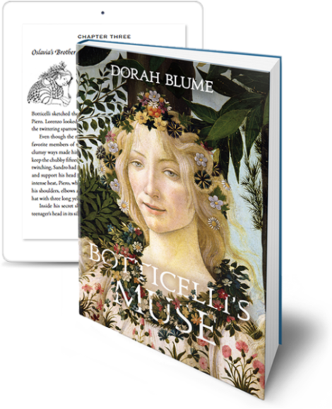 Cover Of Botticelli's Muse