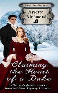 Cover of Claiming the Heart of a Duke