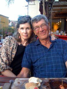 Photo of Katharine Smith-Warren and her husband