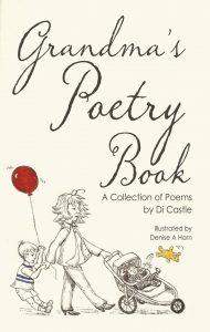 Cover of Grandma's Poetry Book by Di Castle