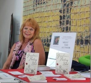 Photo of Di at her stall