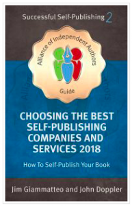cover of a good book to read to help you decide how to distribute self-published books
