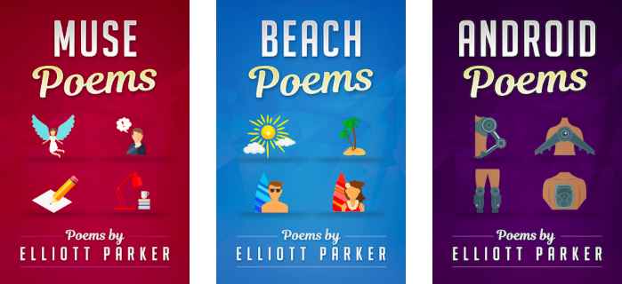 Michael La Ronn Poetry Covers