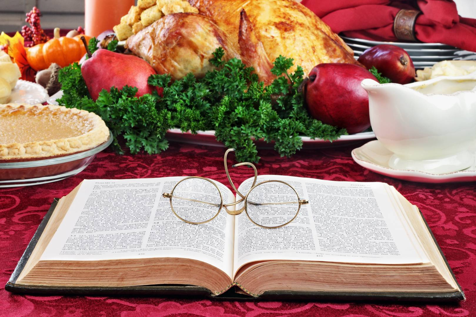 Thanksgiving With A Good Book