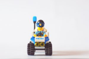 Image of Lego policemen