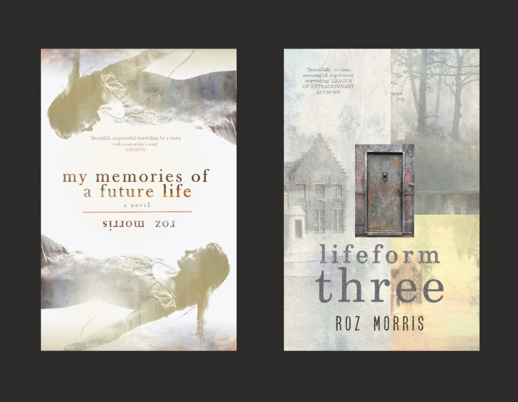 covers of Memories of a Future Life and Lifeform Three