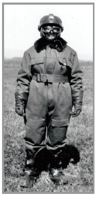 photo of woman in flying suit