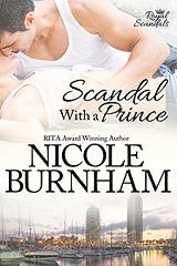 cover of Scandal with a prince