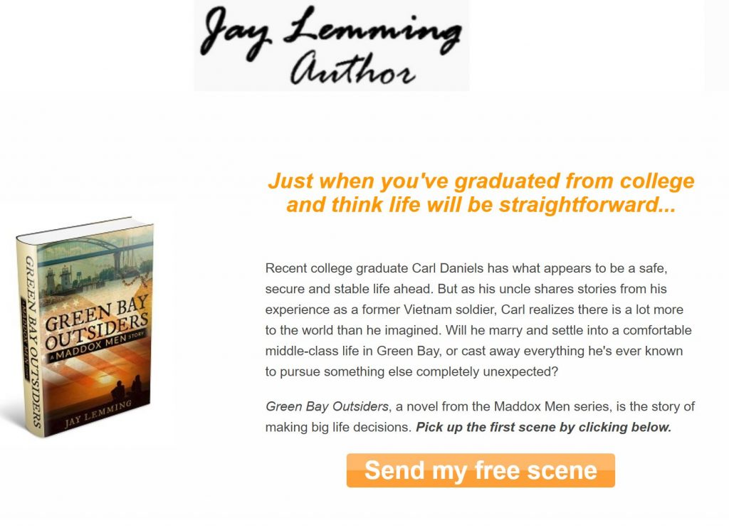Jay Lemming's landing page