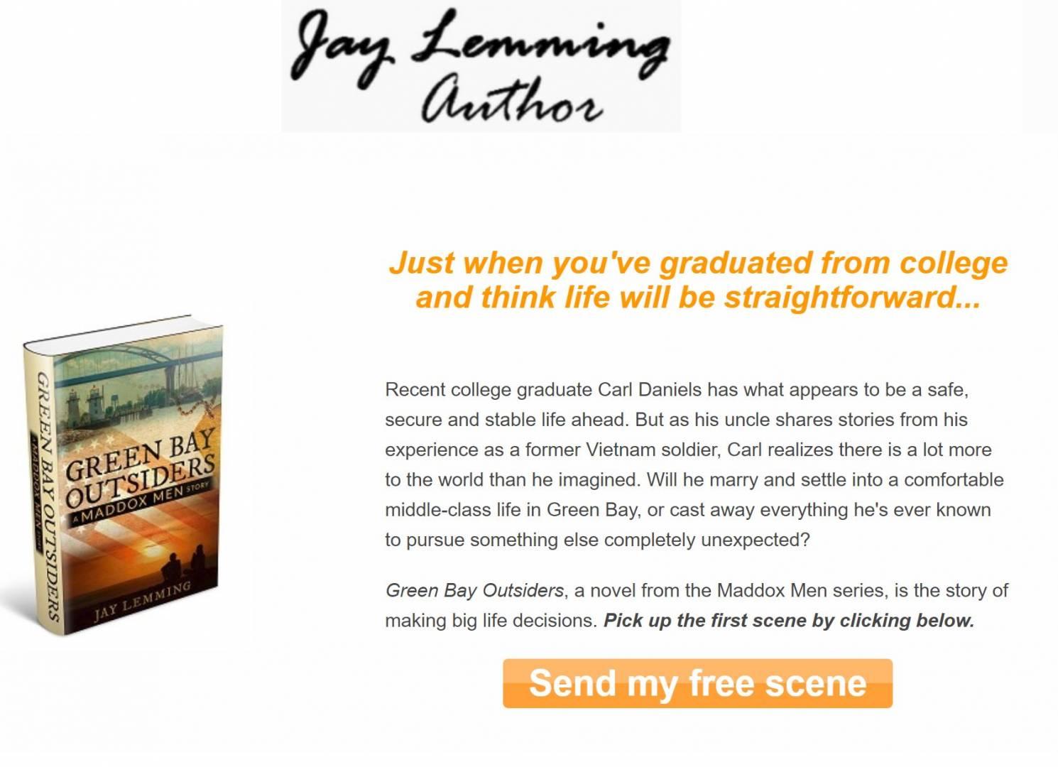 Jay Lemming's Landing Page