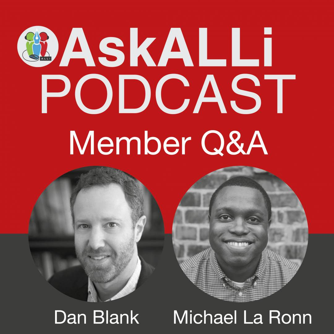 March 2018 AskALLI Members' Q&A With Michael La Ronn And Dan Blank – Answering 9 Key Questions About Self-publishing