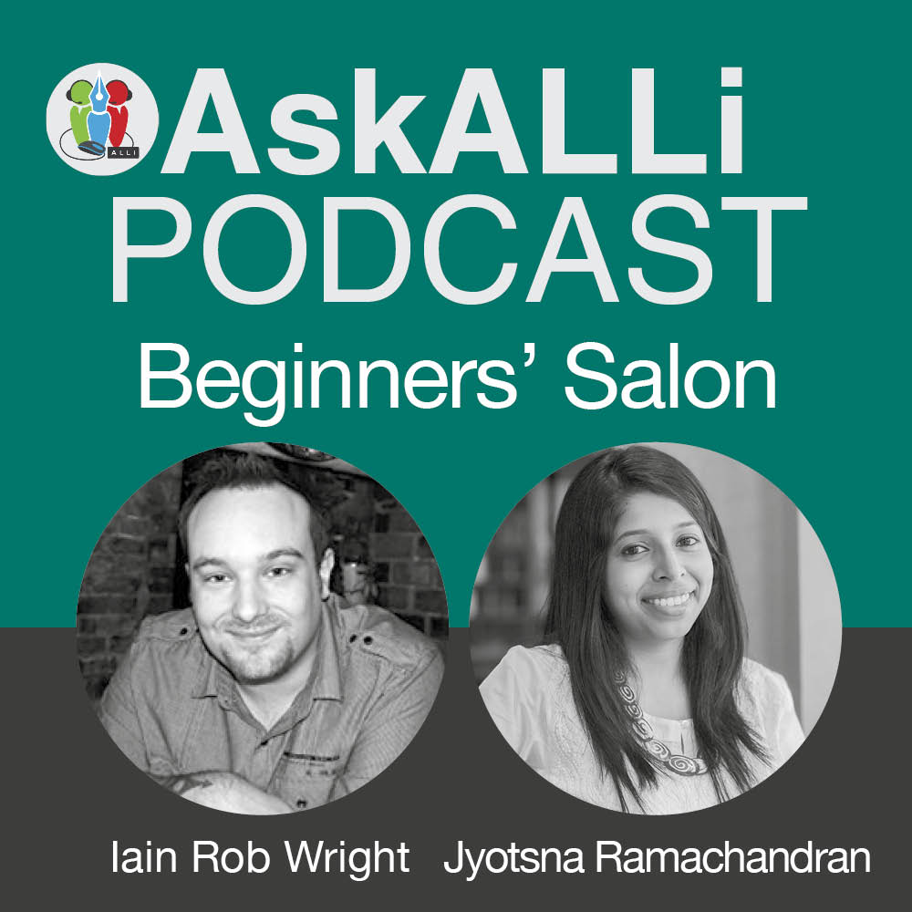 How To Get Your Book Into Readers' Hands: March 2018 AskALLi Beginners' Salon With Jyotsna Ramachandran And Iain Rob Wright