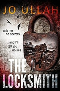 cover of The Locksmith by Jo Ullah, for which she used beta readers