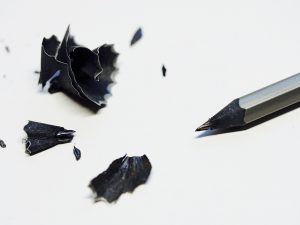 photo of sharpened pencil