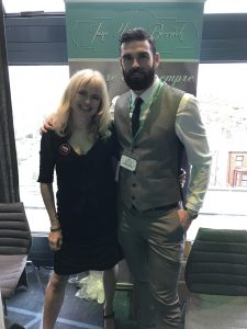 photo of Jane Harvey-Berwick and Stuart Reardon