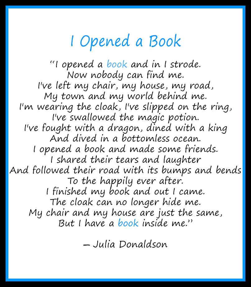 text of Julia Donaldson's poem