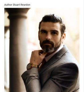 head and shoulders shot of Stuart Reardon