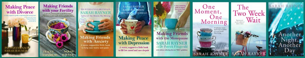 Array of covers for Making Friends series