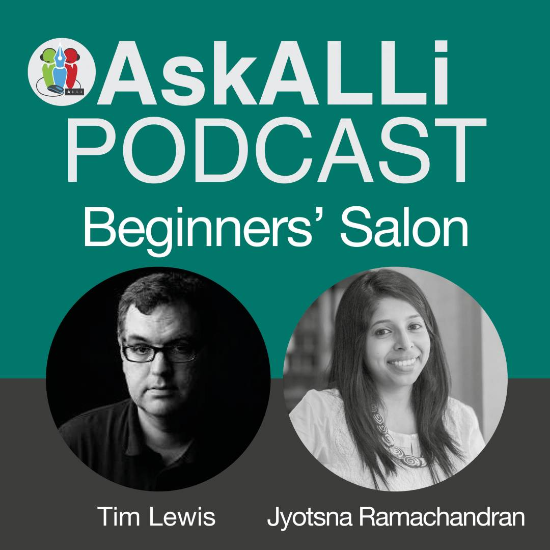 Working With An Editor: AskALLi Beginners' Self-Publishing Salon June 2018