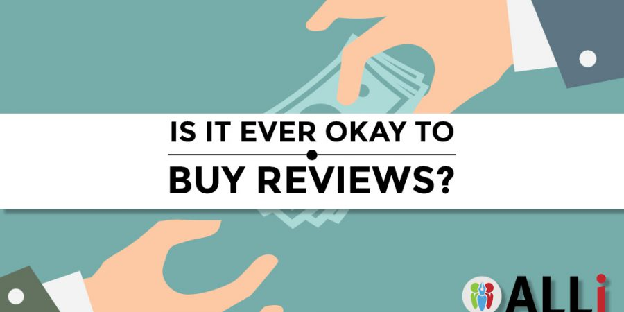 Is It Ever Okay To Buy Reviews?