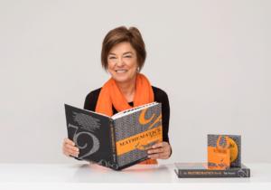 Helen Prochazka with her book