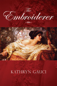 cover of the English language edition of The Embroiderer