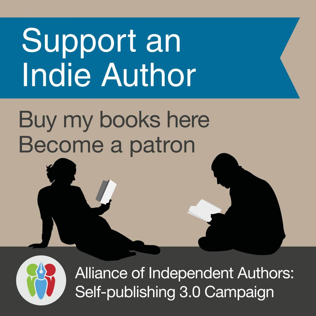 Support An Indie Author Badge
