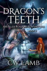 cover of Dragon's Teeth by C W Lamb