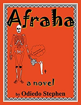 Cover of Afraha by Kenya author Odiedo Stephen