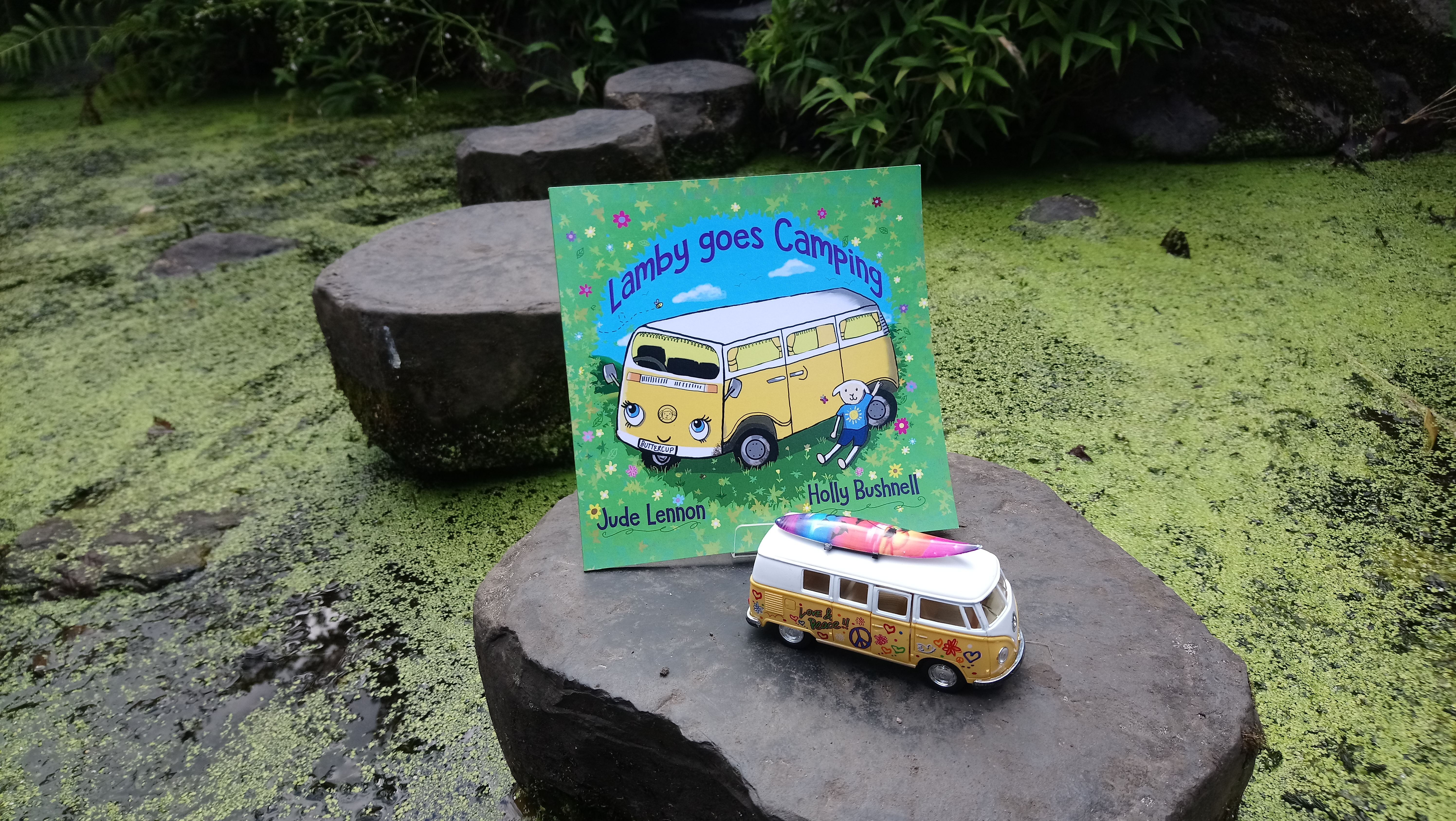Camping Awareness Day Photo Of Toy Camper Van