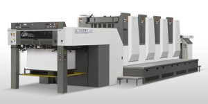 image of offset litho machin