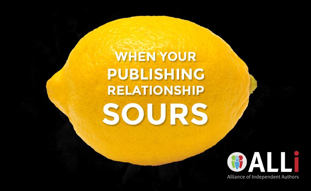 What Do You Do When Your Relationship With A Publisher Sours?