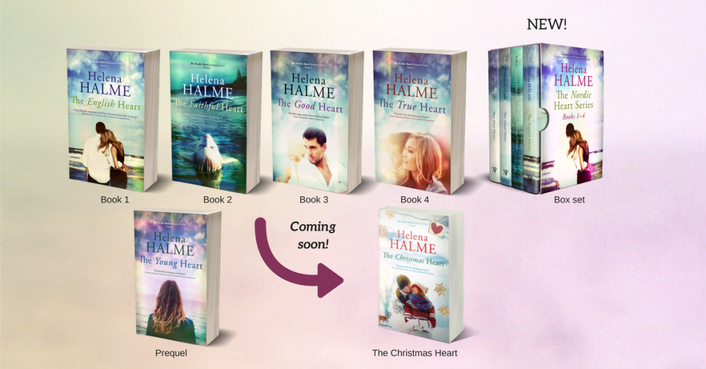 array of Helena Halme's books including her box set