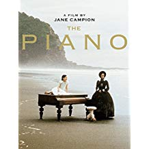 DVD cover showing physical image of piano used at dramatic technique