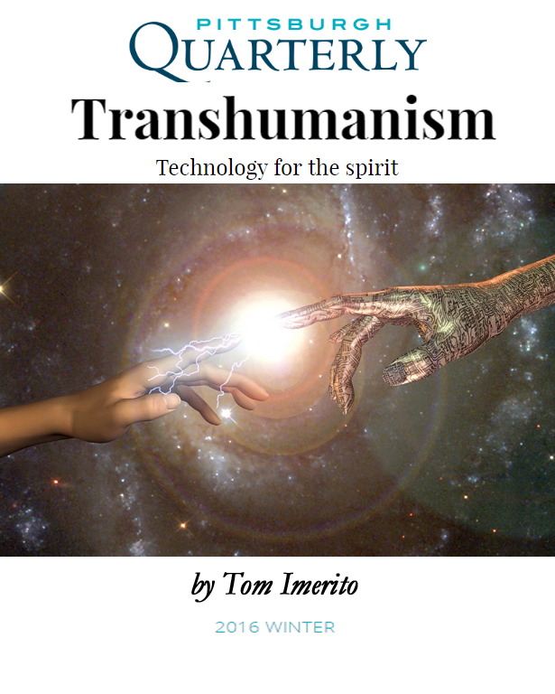 Cover Of Transhumanism Magazine
