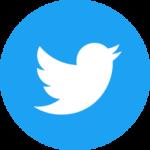 round twitter logo