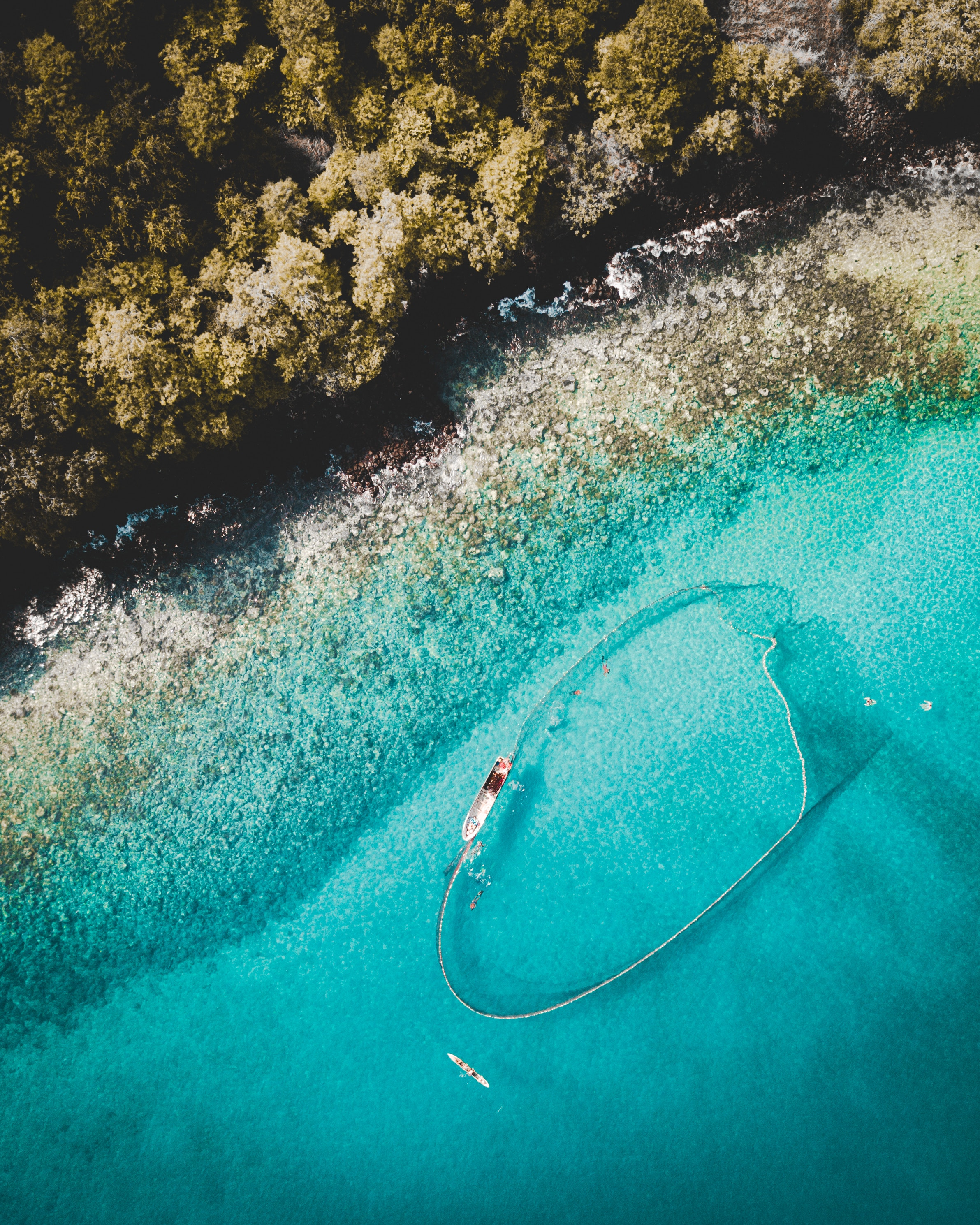 Image Of Fishing Net In Water By @joaopedrodesign Via Unsplash.com