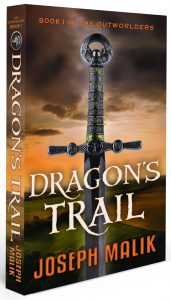 Cover of Dragon's Trail by Joseph Malik