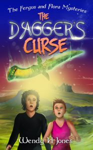 cover of The Dagger's Curse by Wendy H Jones