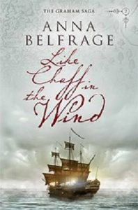 cover of Like Chaff in the Wind by Anna Belfrage