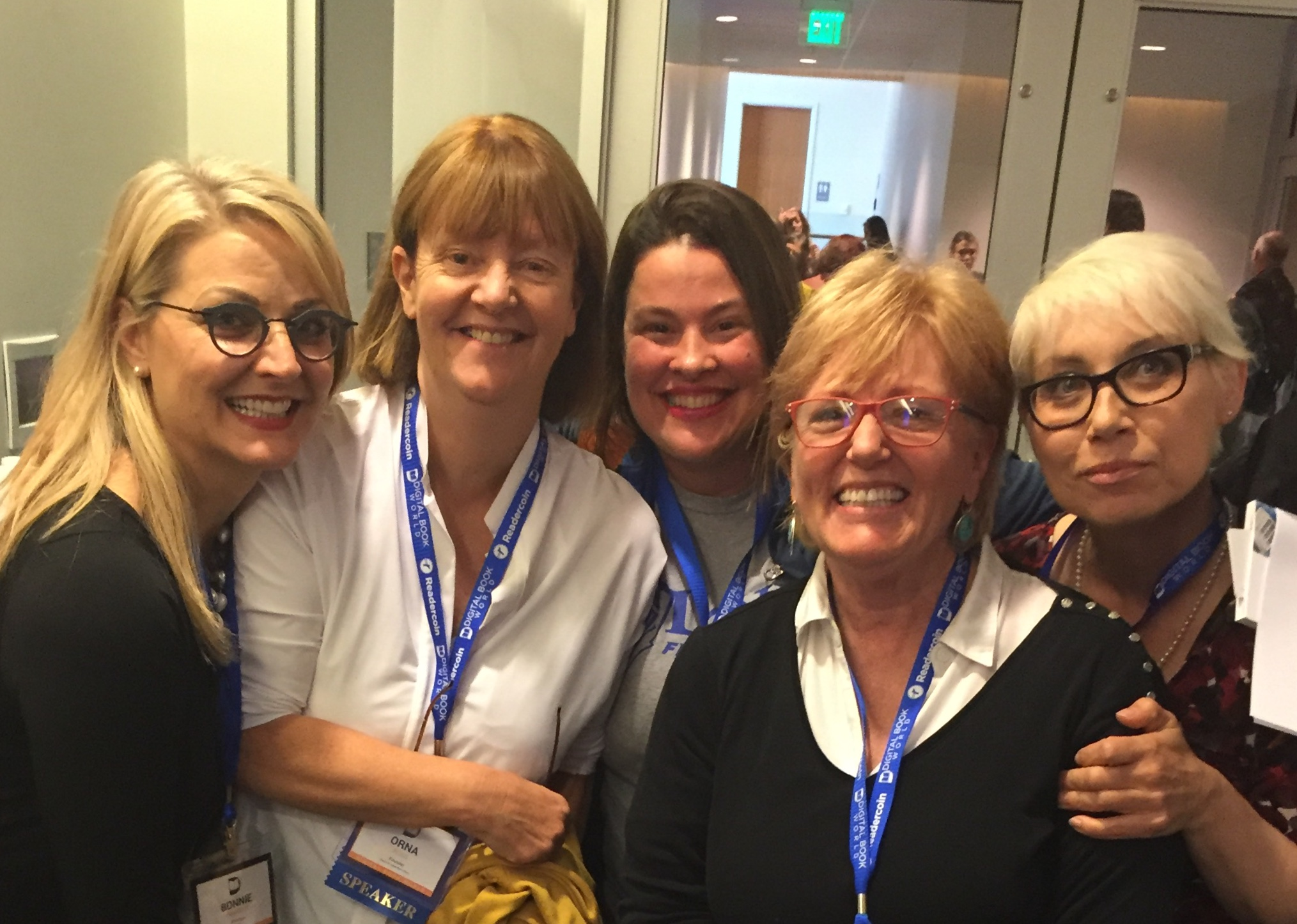 Five ALLis At The Self Publishing Advice Conference