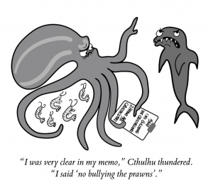 cartoon from Punctuation without Tears