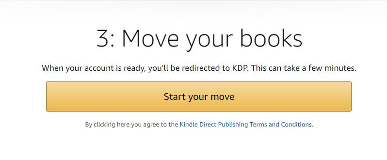 Step 3: Transfer to KDP