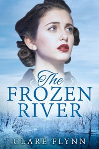 cover of The Frozen River by Clare Flynn