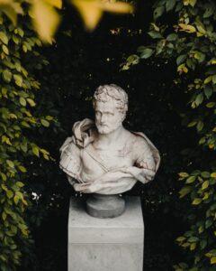 greek bust statue